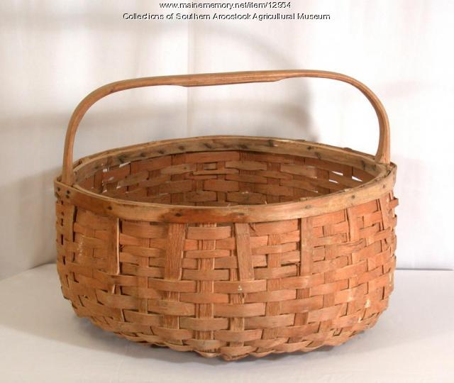 Potato Basket, Littleton, ca. 1940