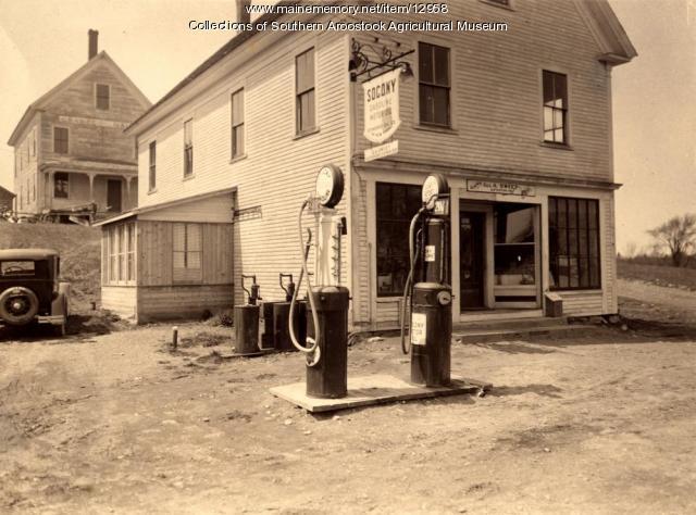 George A. Sweet General Store, Littleton, ca. 1935