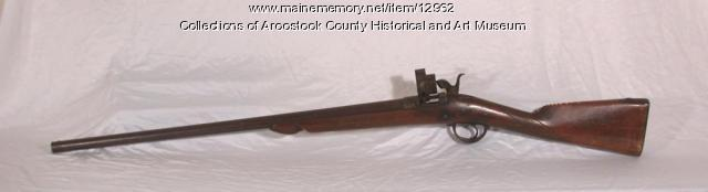 Open breach rifle, ca. 1850