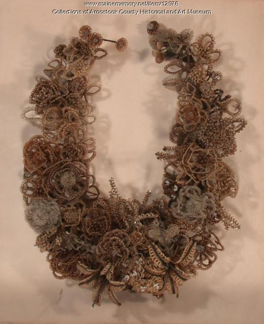 Wreath of Human Hair