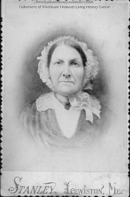 Martha Washburn, Livermore, ca. 1850