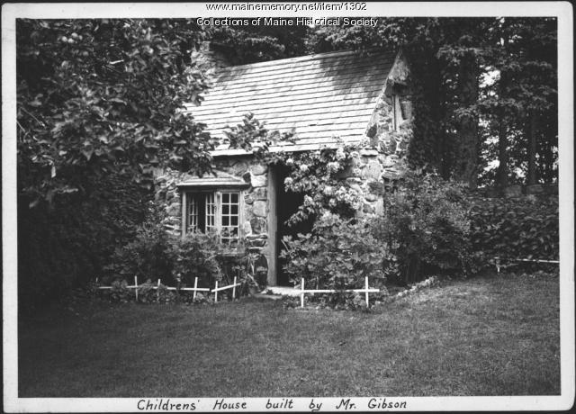 Children's house, Gibson estate, Islesboro, 1937