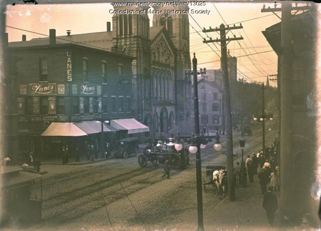 Second Parish Church, Portland, ca. 1900