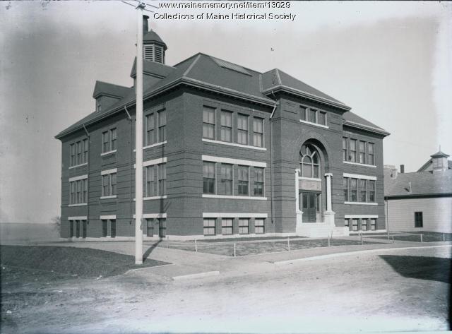 Emerson School, Portland, ca. 1900