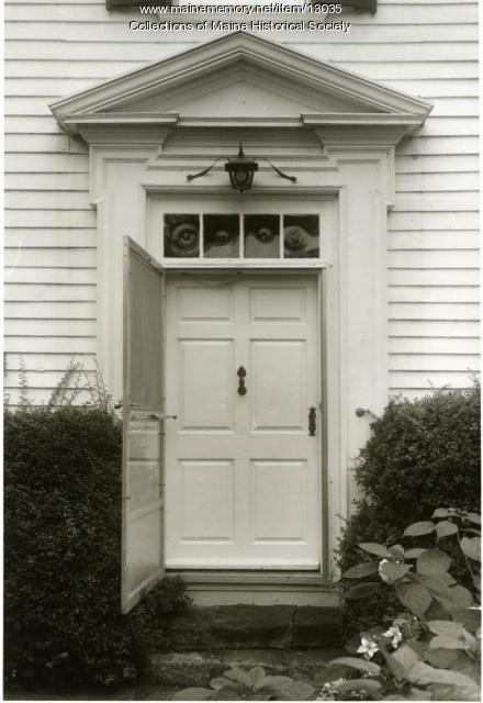 Doorway, McCobb-Hill-Minott House, Phippsburg