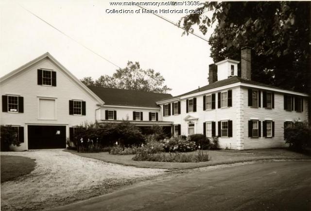 McCobb-Hill-Minott House, Phippsburg, 1962