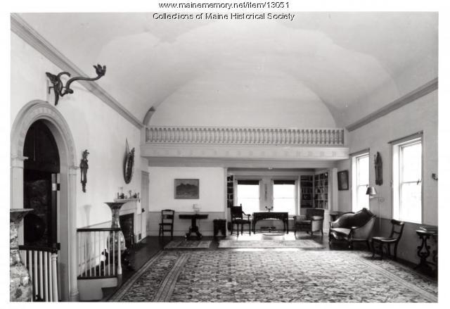 Ballroom, Holden-Frost House, Topsham, 1962