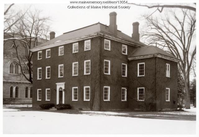 Massachusetts Hall, Bowdoin College, 1962