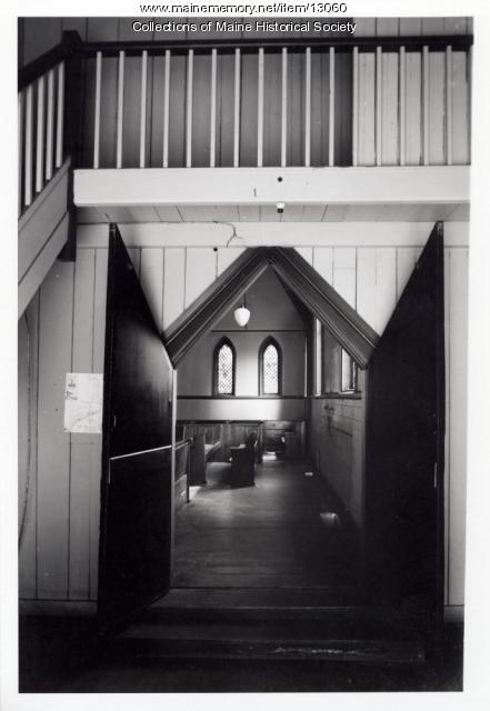 Narthex-nave doorway, Grace Episcopal Church, Bath