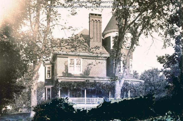 French House, Houlton, c. 1900