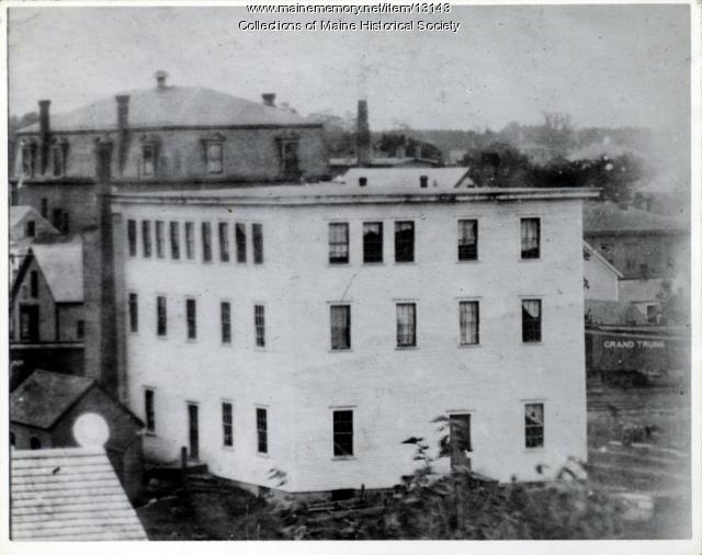 Quimby Shoe Shop, Westbrook, ca. 1890