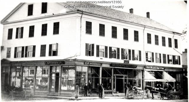 Warren Block, Westbrook, ca. 1890s