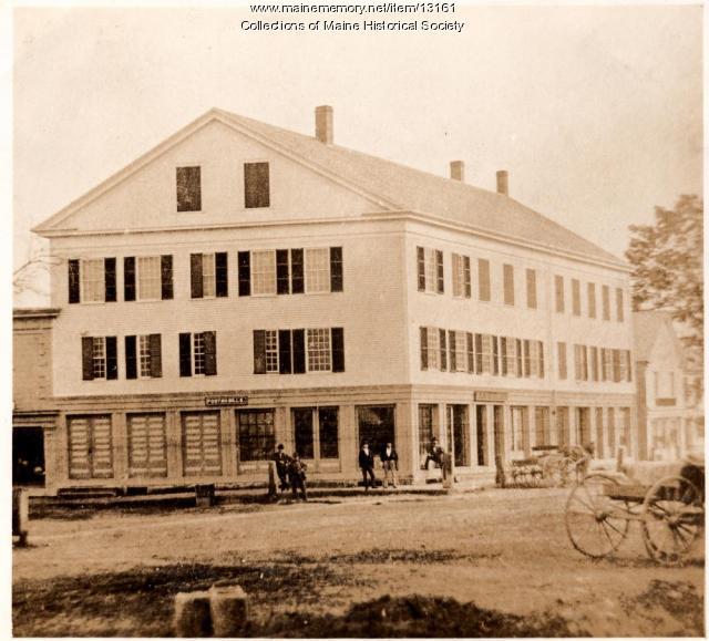 Warren Block, late 1800s, Westbrook