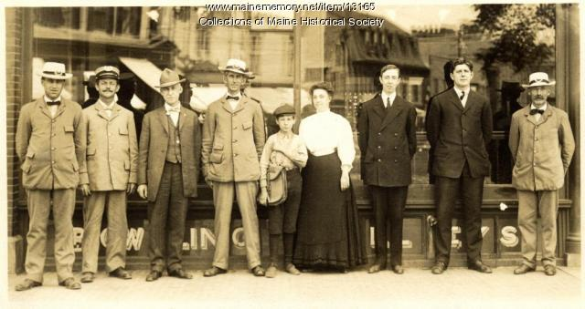 Westbrook Post Office employees, 1905