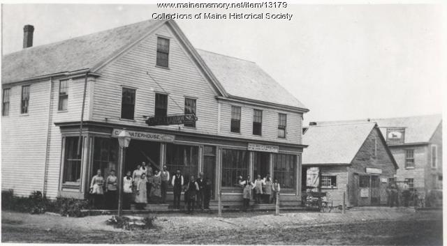Shops, Westbrook, ca. 1885