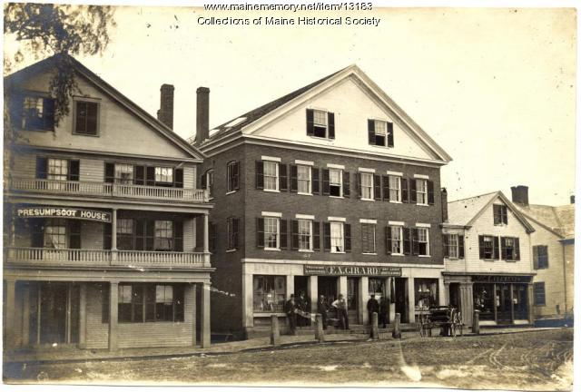 Presumpscot House, Westbrook, ca. 1880