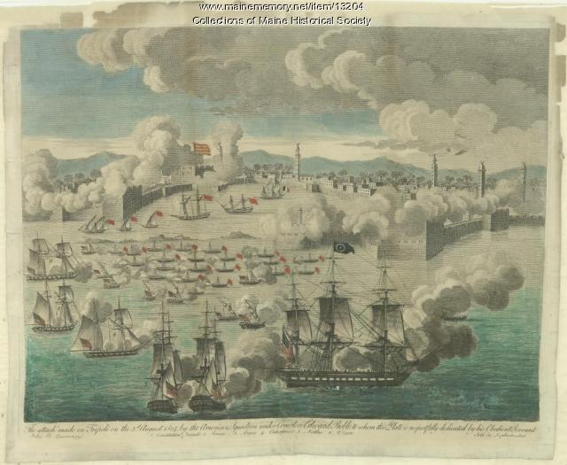 Battle of Tripoli, August 3, 1804