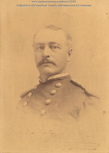 Colonel Henry Clay Merriam, Washington, ca. 1885