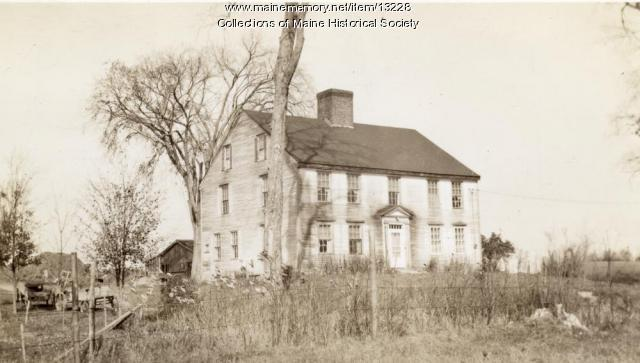 Stephen Longfellow house, Gorham, ca. 1880
