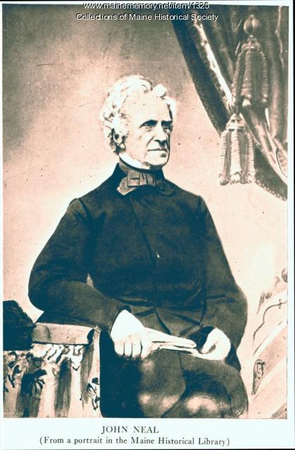 John Neal, ca. 1820