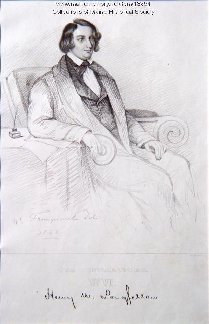 Henry Wadsworth Longfellow, ca. 1842