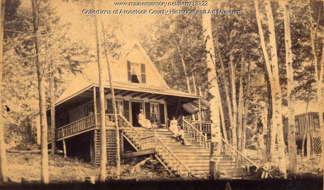 West Cottage on Nickerson Lake, ca. 1895