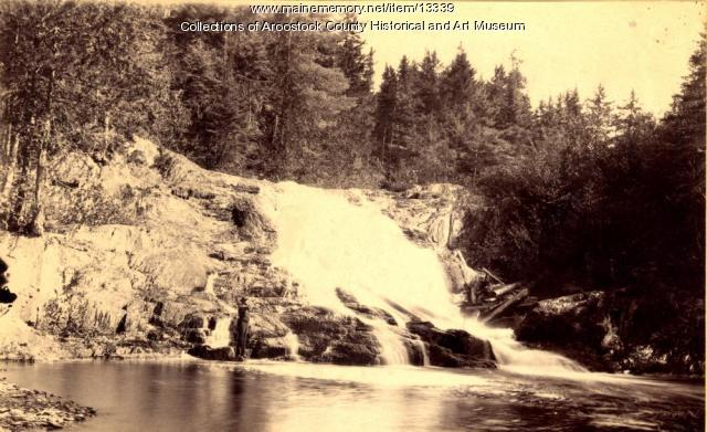 Lower Falls on East Hastings Brook, 1892