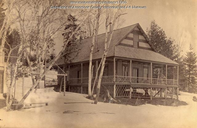 Harris Cottage on Nickerson Lake, ca.1895