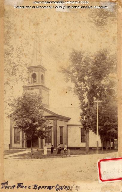 First Free Baptist Church, Houlton