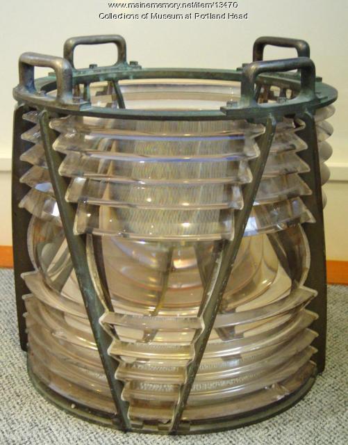Lighthouse lens for Portland Head Light