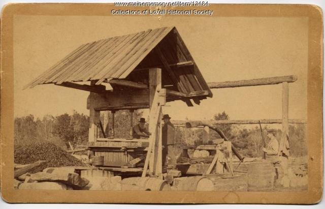Cider Press, Lovell, 1892