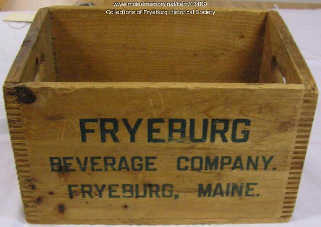 Fryeburg Beverage Company box
