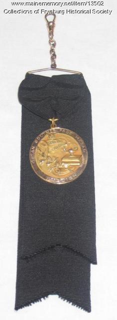 Fryeburg Academy academic medal