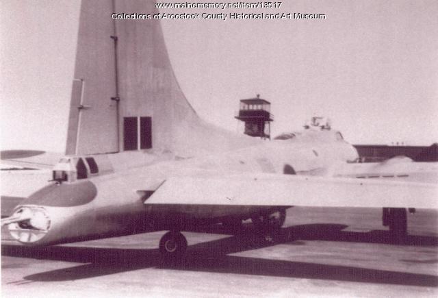 B-17 at Houlton Army Air Base
