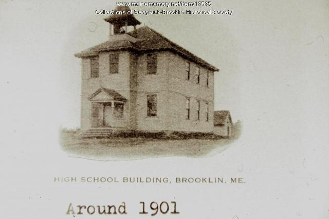 First Brooklin High School 1901