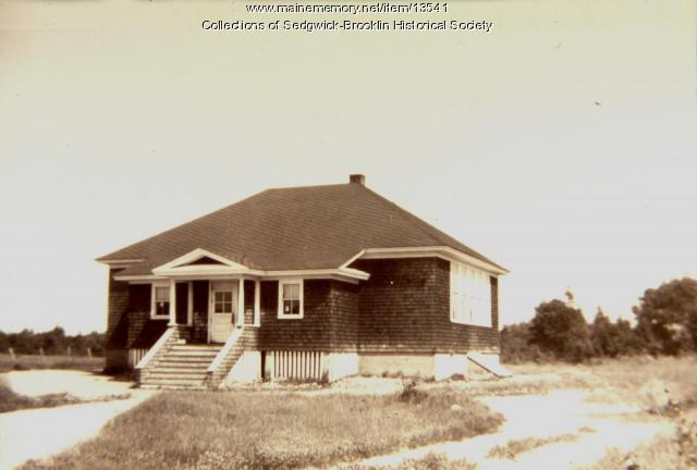 Brooklin Village School, circa 1948