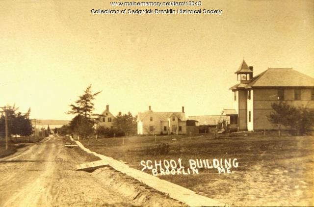 First Brooklin high school, 1906