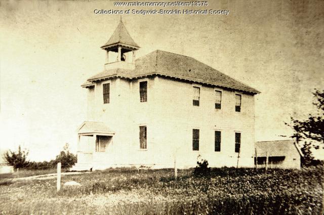 First Brooklin High School in 1901