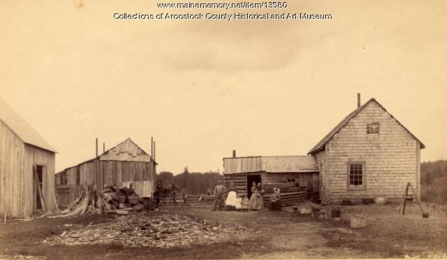 Bell farm, Houlton, ca. 1890