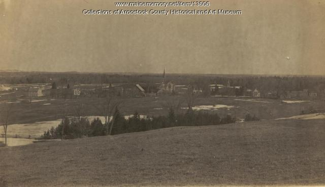 View of Mars Hill, ca. 1895