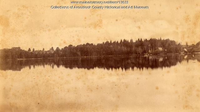 Nickerson Lake, Houlton, ca. 1890