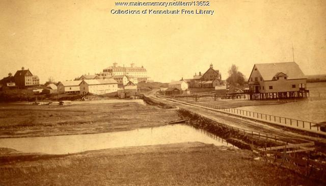 Ocean Avenue, Kennebunkport, ca. 1870