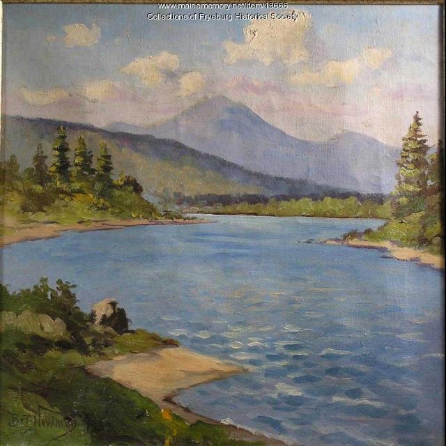 Saco River, Fryeburg, 1933