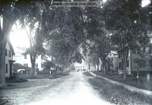 Fletcher Street, Kennebunk, ca. 1900