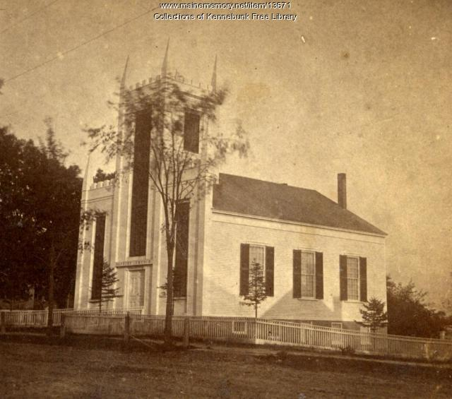 Kennebunk Baptist Church, ca. 1860