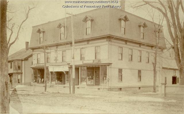Pythian Block, Main Street, Kennebunk