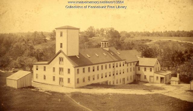Twine Mill, West Kennebunk, ca. 1880