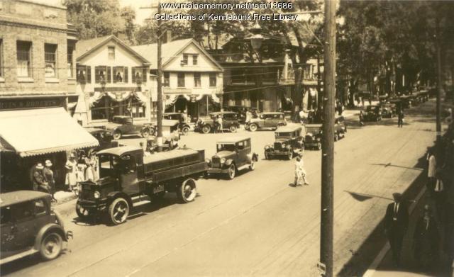 Main Street, Kennebunk, ca. 1935