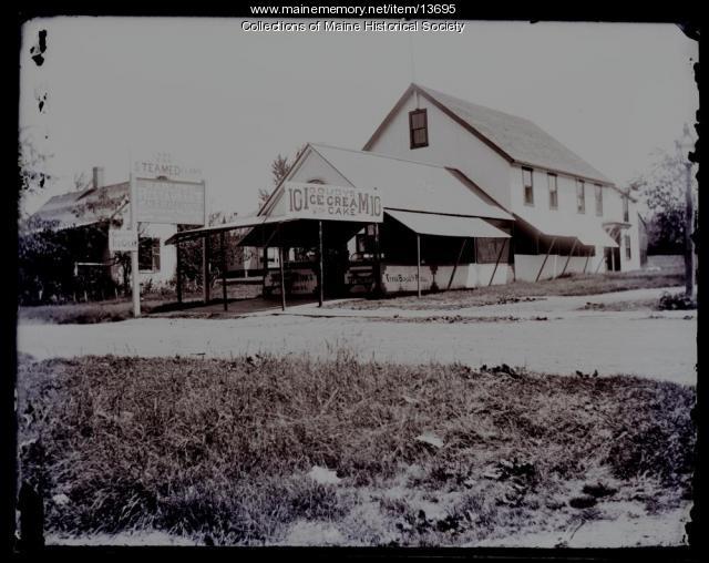 Harlow's Restaurant, Peaks Island, ca. 1880s