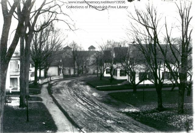 Pleasant Street, Kennebunk, ca. 1900